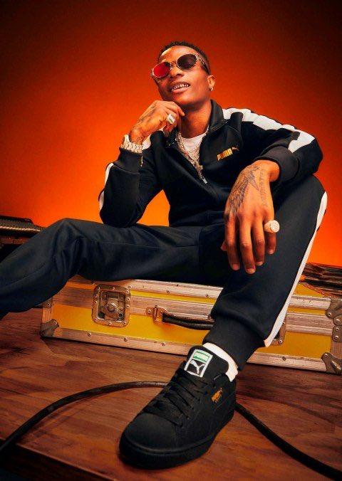 Wizkid Bags Endorsement Deal, Announced As Face Of Puma Sportswear