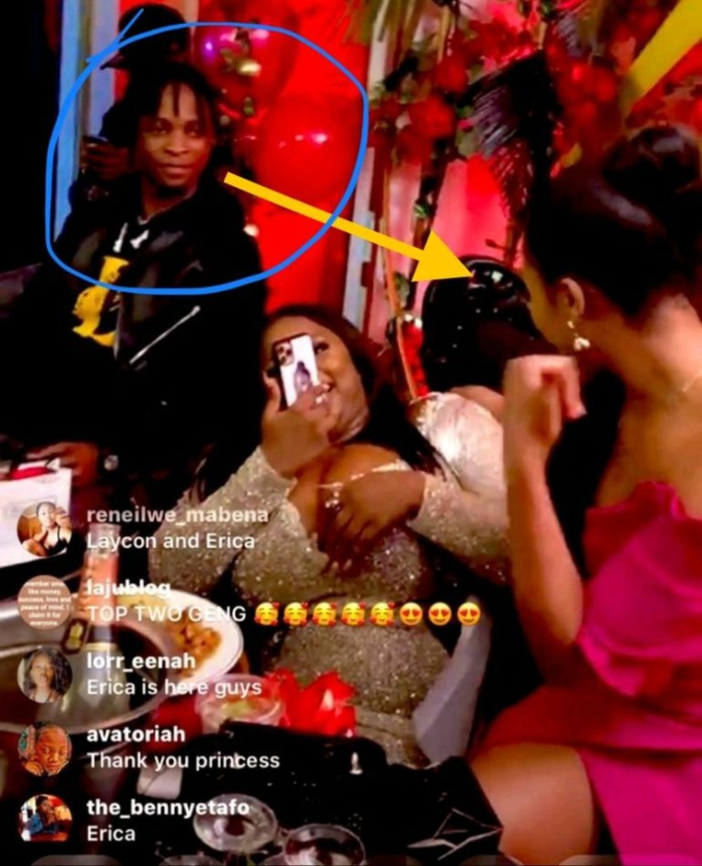 Dorathy's Birthday Party, Laycon And Erica Clash; See Moment Laycon Was Caught Watching Erica At Dorathy's Birthday Party, Latest Nigeria News, Daily Devotionals & Celebrity Gossips - Chidispalace