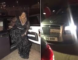 Eniola Badmus Rolls Royce
