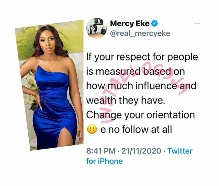 Mercy Eke Twitter
