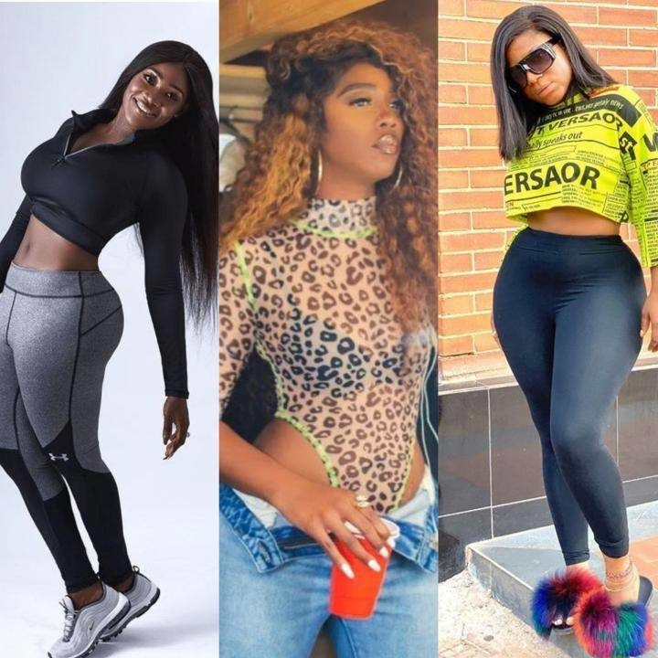 Top Nigerian Celebrities That Are Blessed With Amazing Curves Without Plastic Surgery