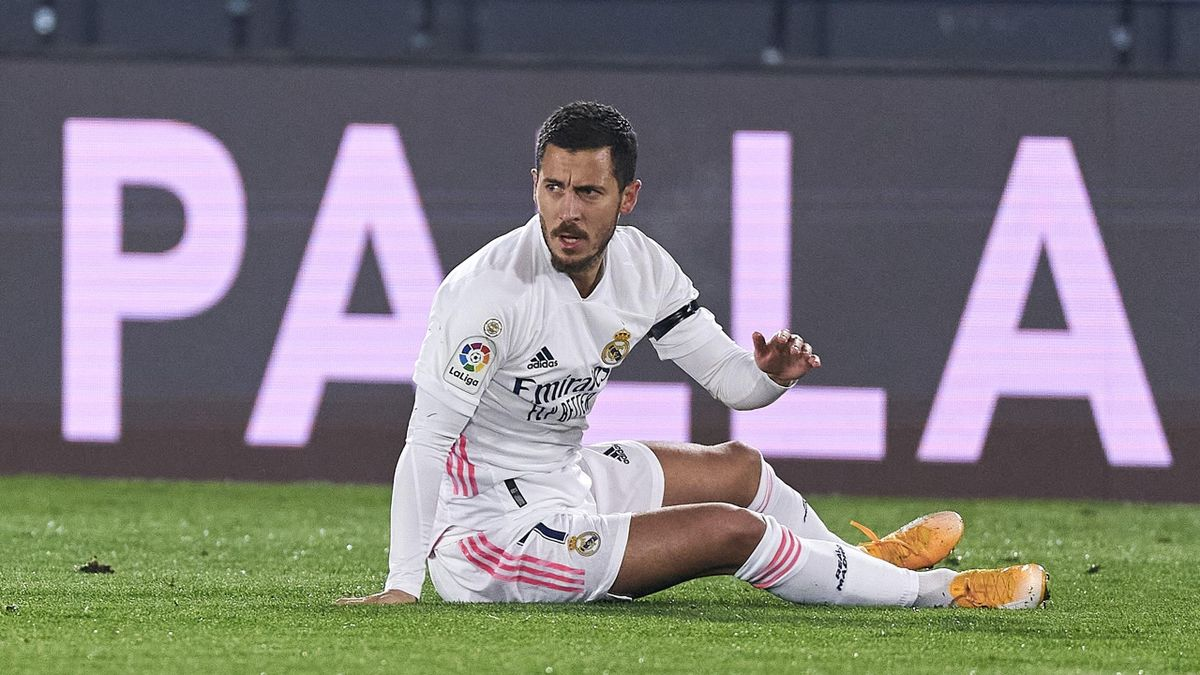 Real Madrid's Hazard Suffers Another Injury Setback Against Alaves