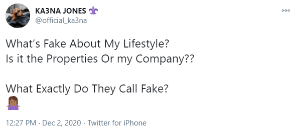 What Is Fake About My Lifestyle? – BBNaija Star Ka3na Quizzes Critics