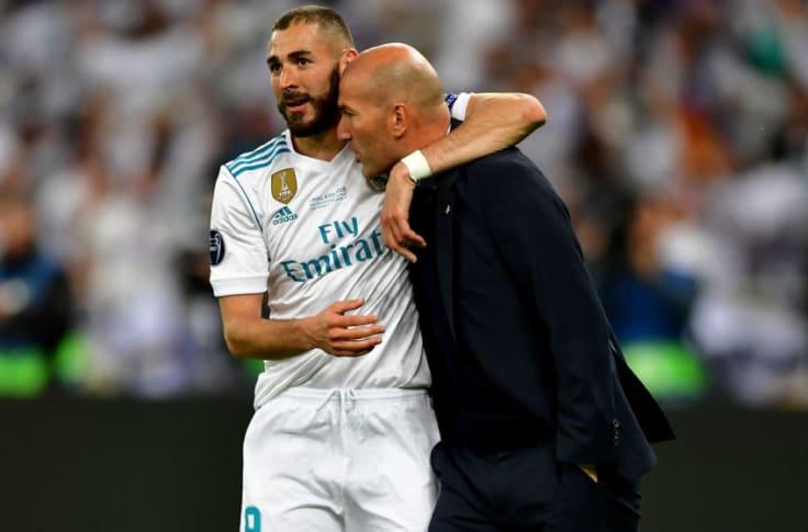 Real Madrid's Karim Benzema best French striker ever - Zinedine Zidane