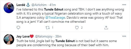 Don T Ever Sing Again Netizens Drag Tunde Ednut Over New Song Featuring Davido Tiwa Savage Video Davido, tiwa savage & seun kuti. song featuring davido tiwa savage