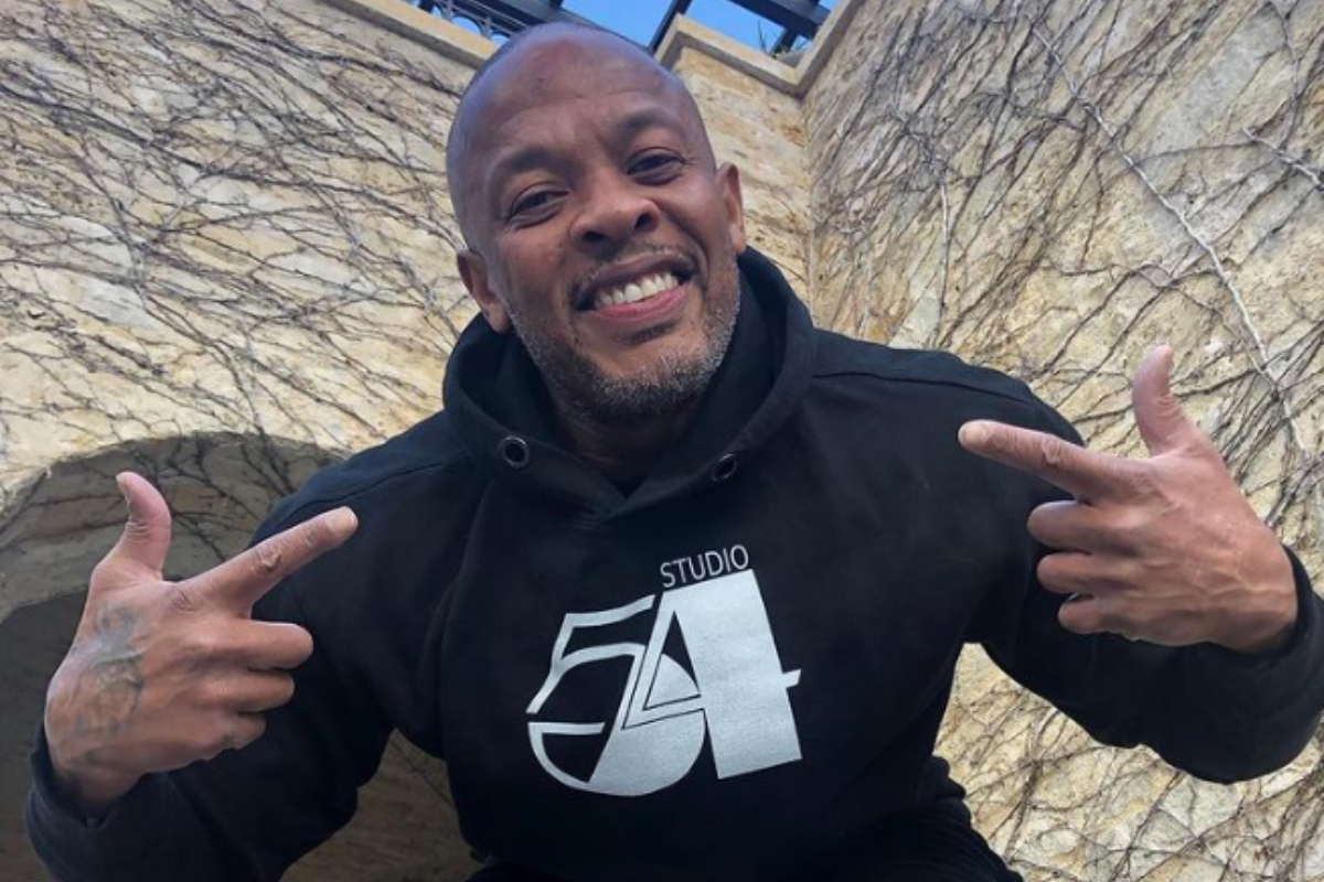 Dr Dre 'safe and looking good' after hospital stay, says Ice T