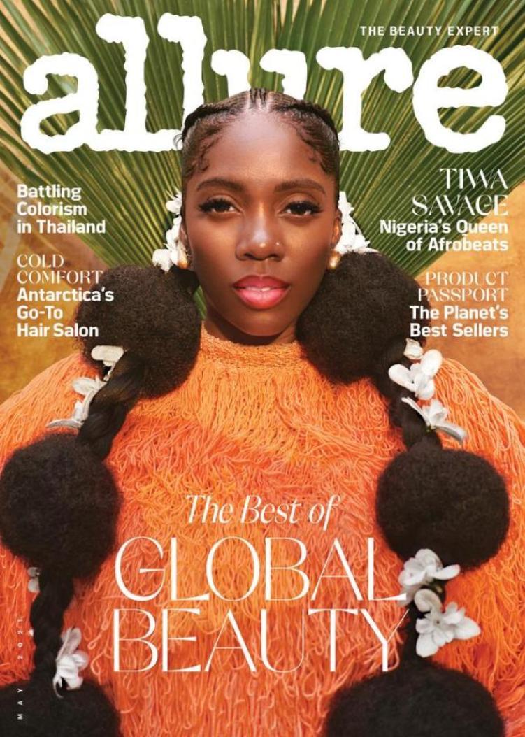Tiwa Savage Allure Magazine Interview