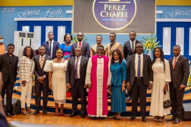 Sam George Ordained As Elder In Perez Chapel [Photos]