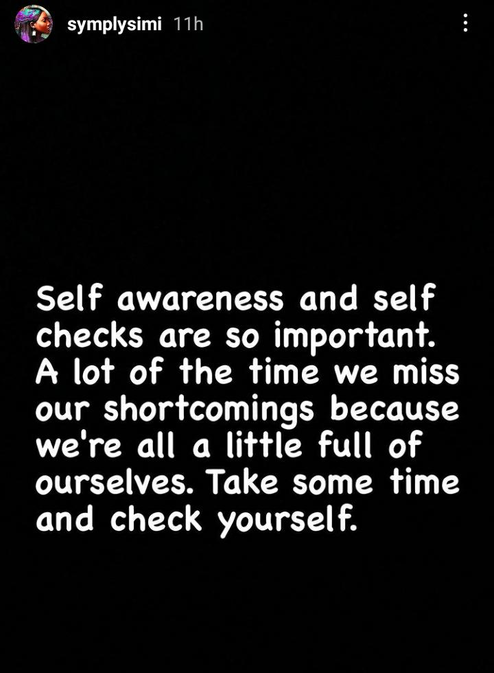 Take Some Time And Check Yourself