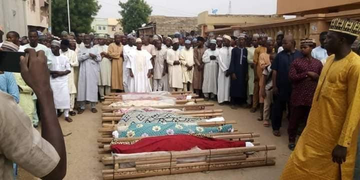 Fatal Motor Accident Kills 17 Young Men Returning From Friend's Wedding In Kaduna (PHOTOS)