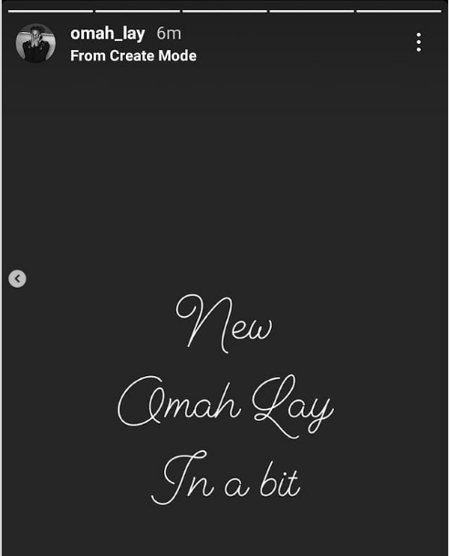 Omah Lay Set To Bless His Fans With New Song Soon