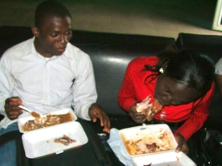 You Are Still Developing If You Cannot Eat Chicken Like My Wife Does In This Picture While Dating