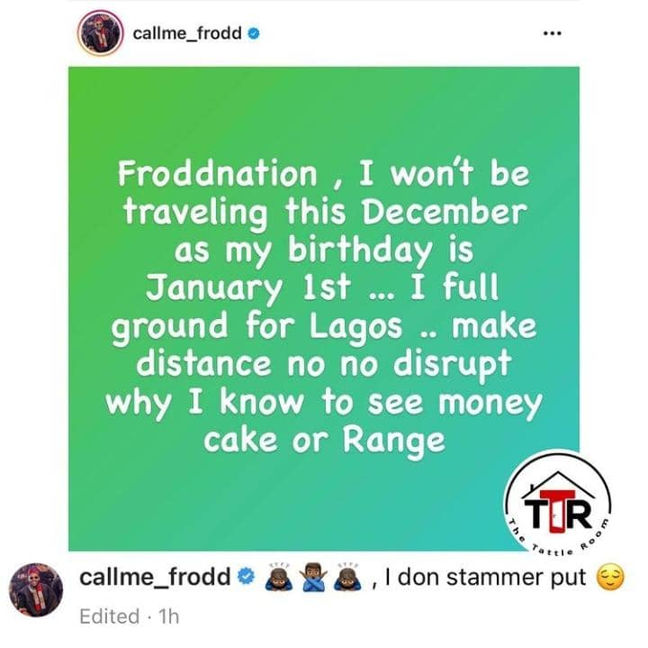 BBNaija Khloe And Frodd Demand Their Own Houses And Cars From Their Fans