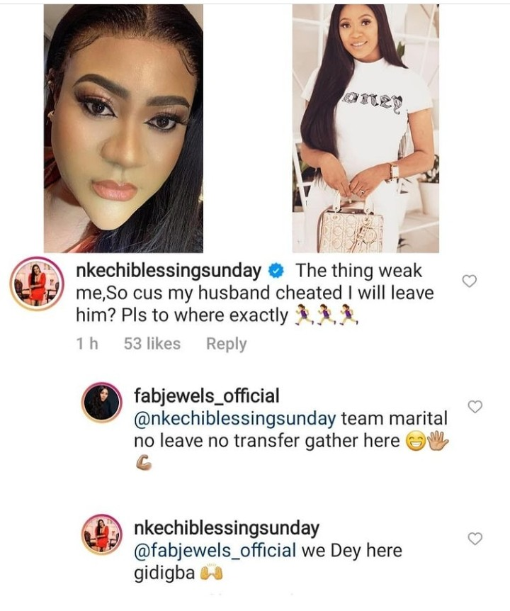 Grace Reveals They Won't Leave Their Husband's Because He Cheated