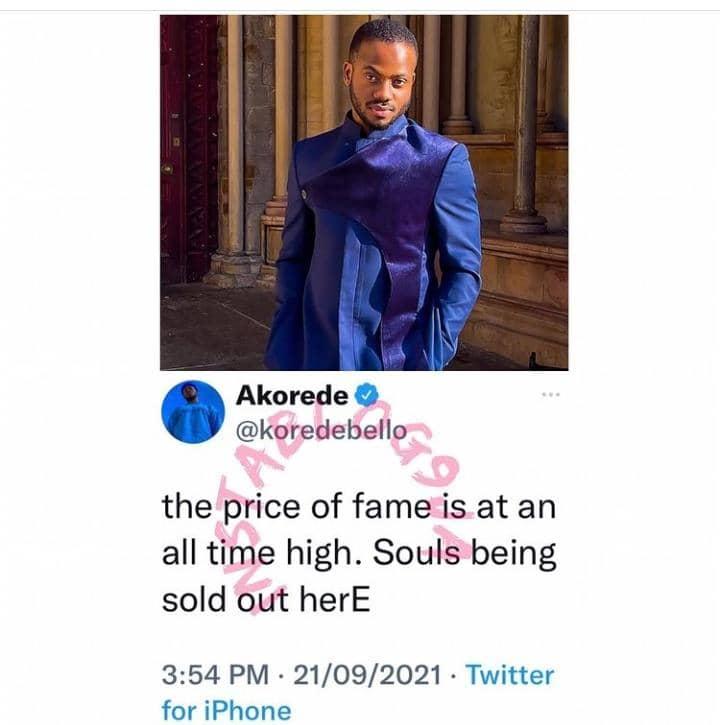 Koredo Bello fait une révélation troublante sur le satanisme dans la musique au Nigeria