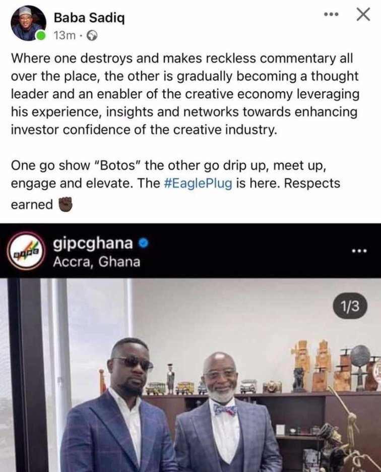 Sarkodie is A Leader, Influencer While Opana Only Knows How to Show 'Bortos'- Sadiq Tears Into Shatta Wale Again