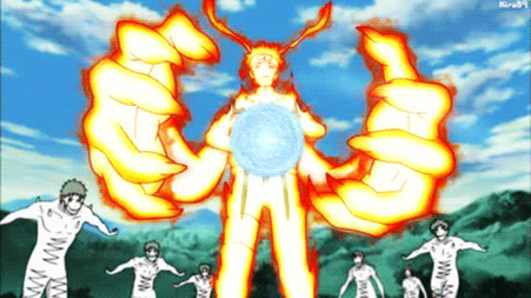 Naruto Shippuden Nine Tailed Fox Mode Rasengan – HD ...
