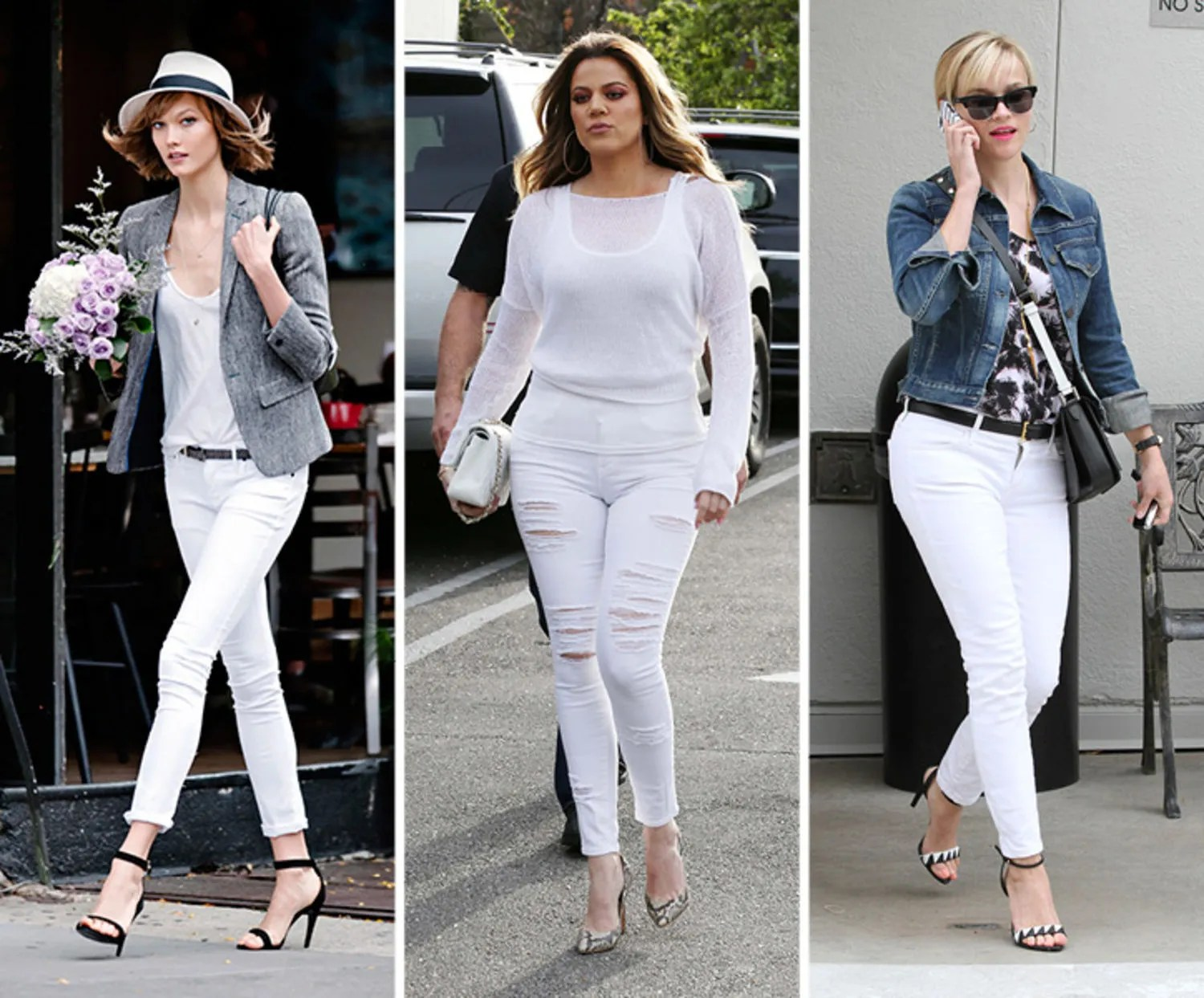 Can I Wear White Jeans In The Fall And Winter?