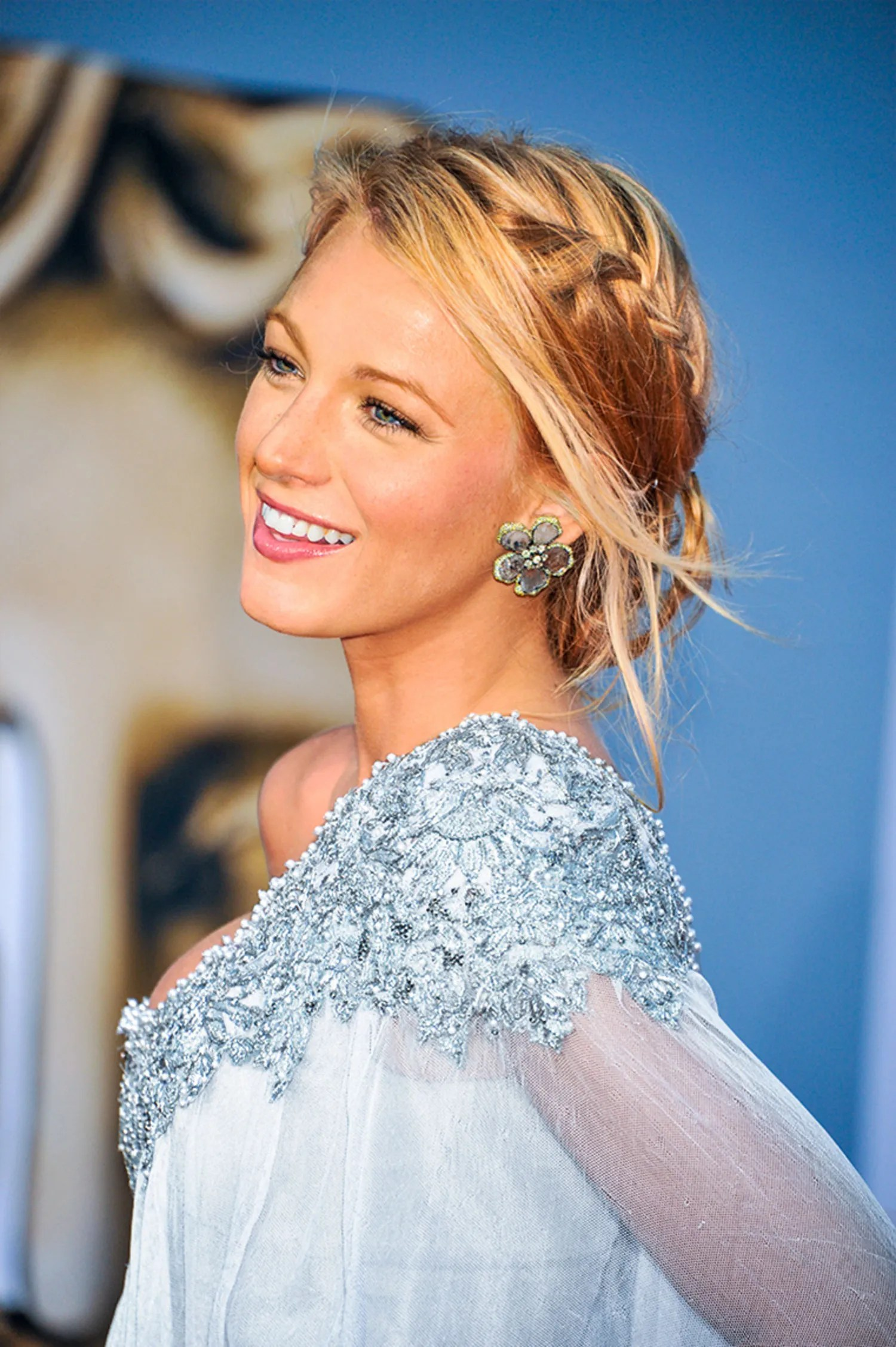 Blake Lively Hairstyles Best Braids  Glamour
