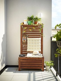 Outdoor Furniture Ikea Wooden Deck