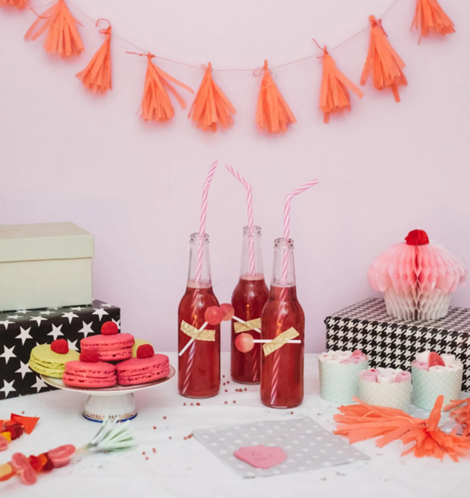 how to host a big party in a tiny space
