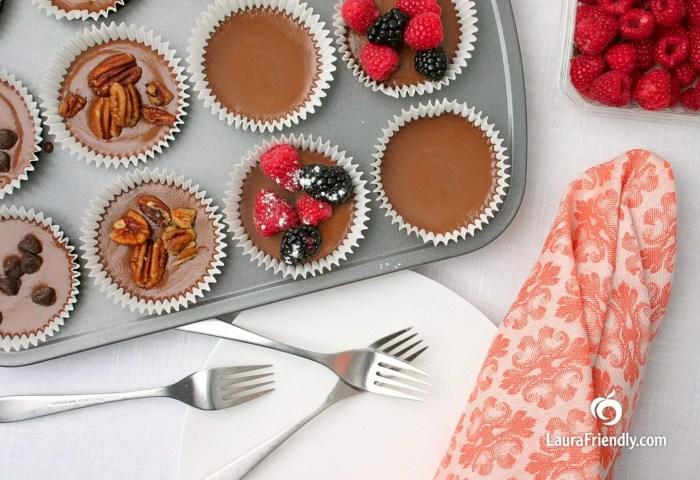 Recipe Idea No Bake Chocolate Peanut Butter Cheesecake Cupcakes