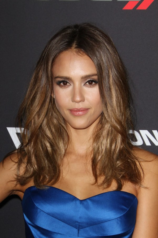 Jessica Alba Hair Highlights