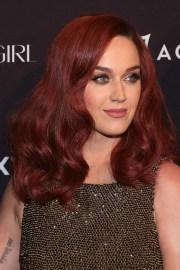 katy perry's auburn hair celebrity