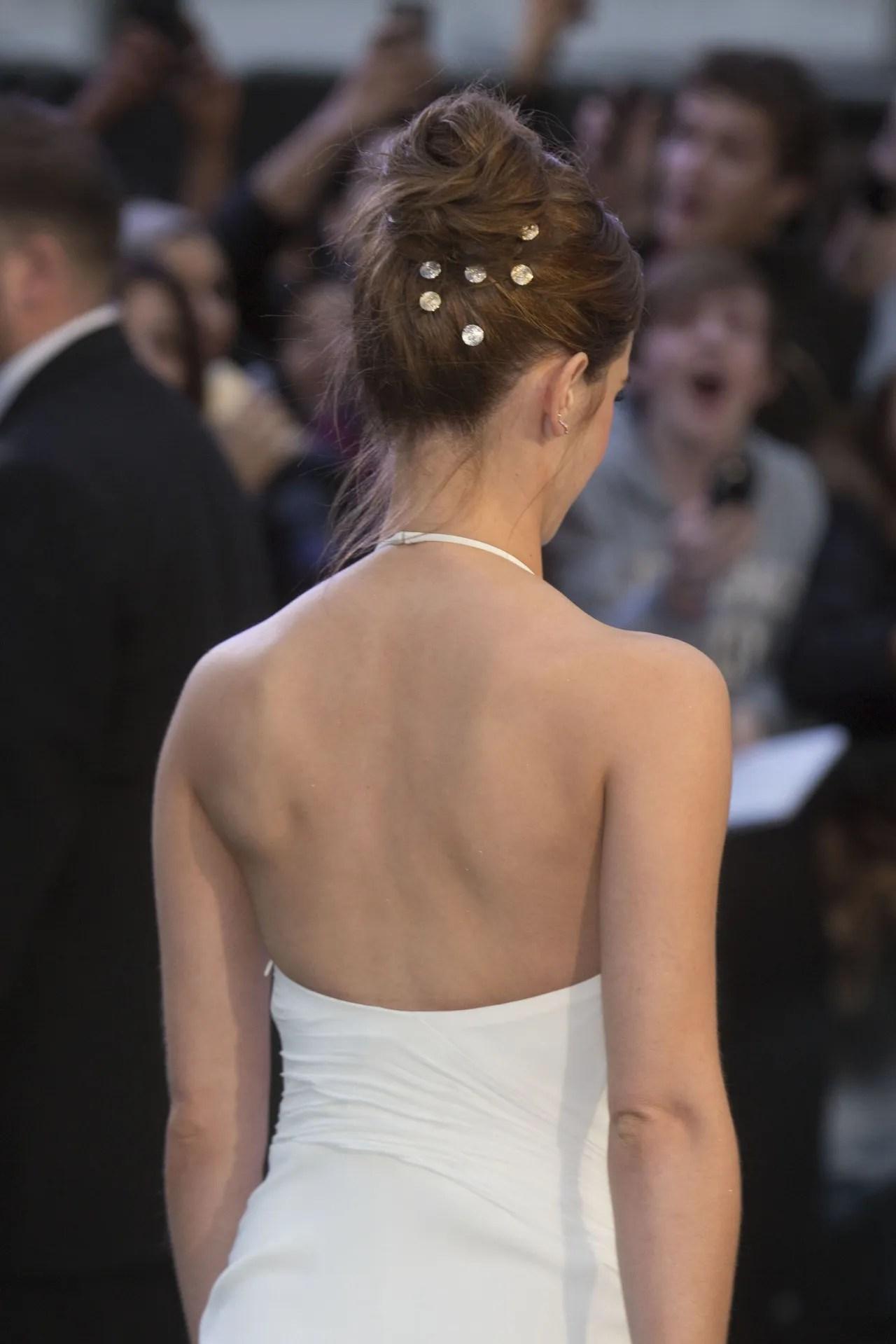 Emma Watson UK Premiere Noah Dress Designer Ralph