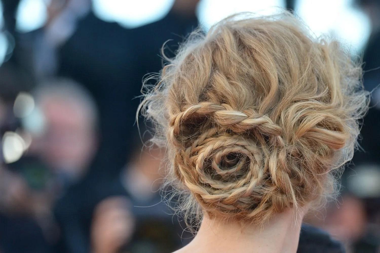 Wedding Hair How To The Rose Shaped Bun Nicole Kidman