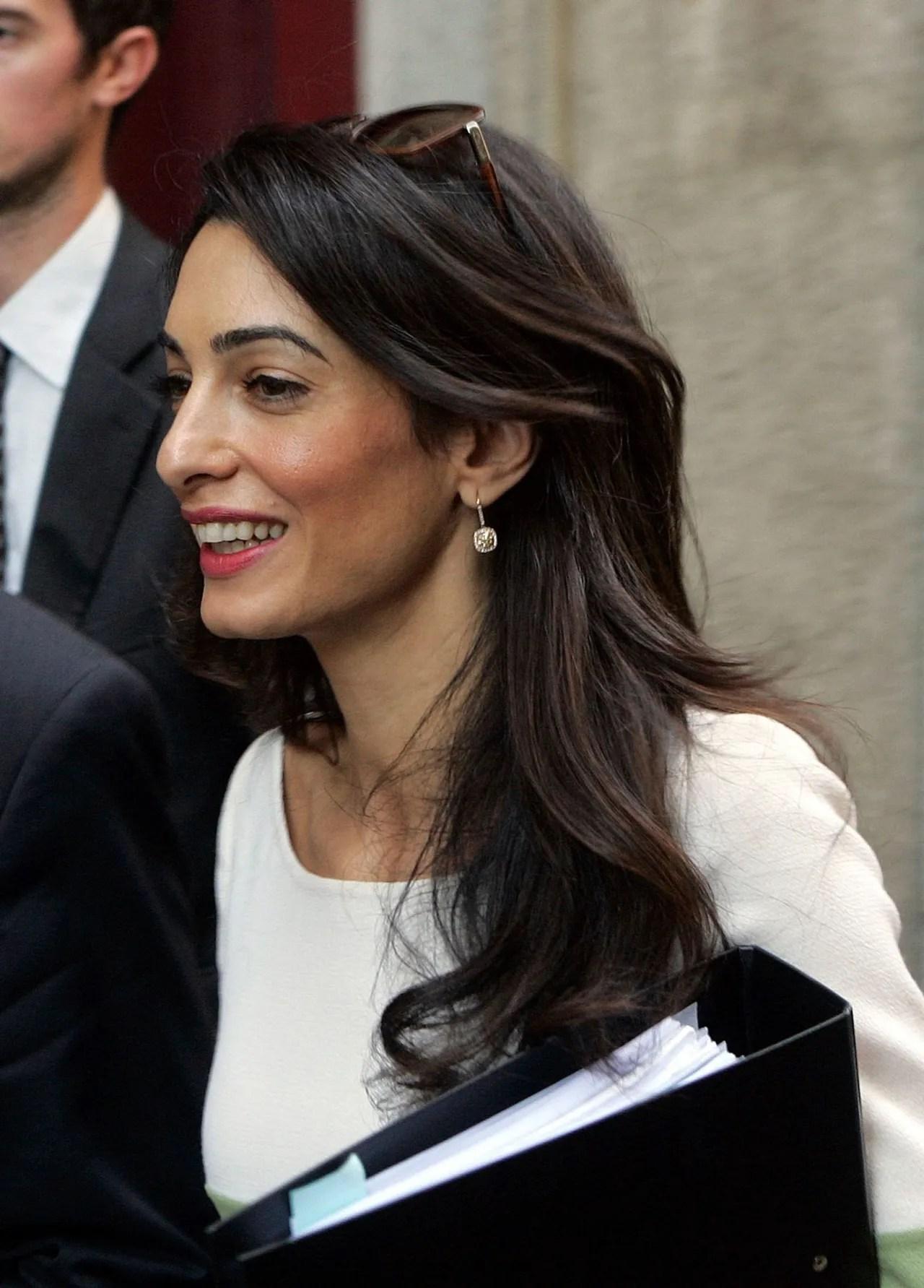 Amal Alamuddin Clooney Might Give Kate Middleton