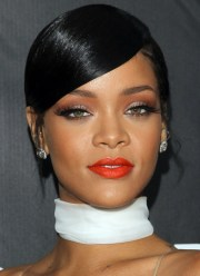 celebrity hair trend sleek