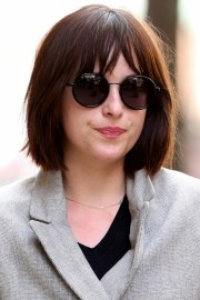 dakota johnson's bob haircut