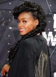 janelle monae wears epic braid
