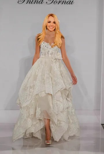 Britney Spears Wedding Dress YOU Decide What She Should Wear  Glamour