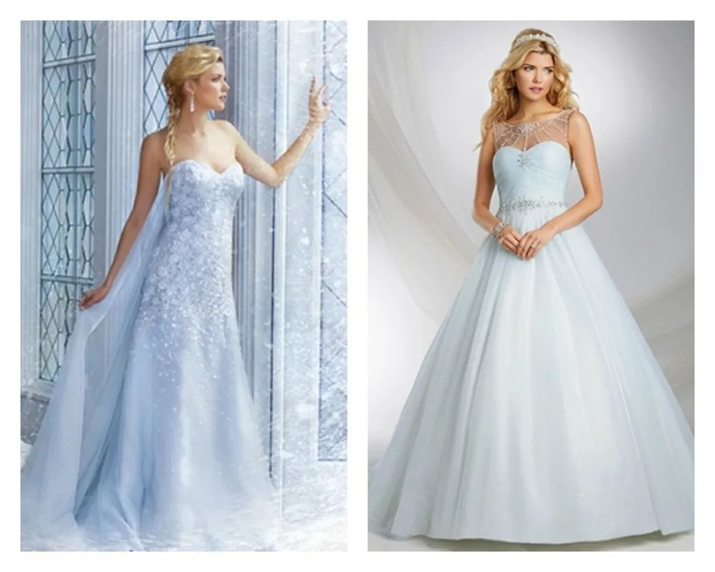 Blue Wedding Dresses, Wedding Gowns: Baby Pale Blue