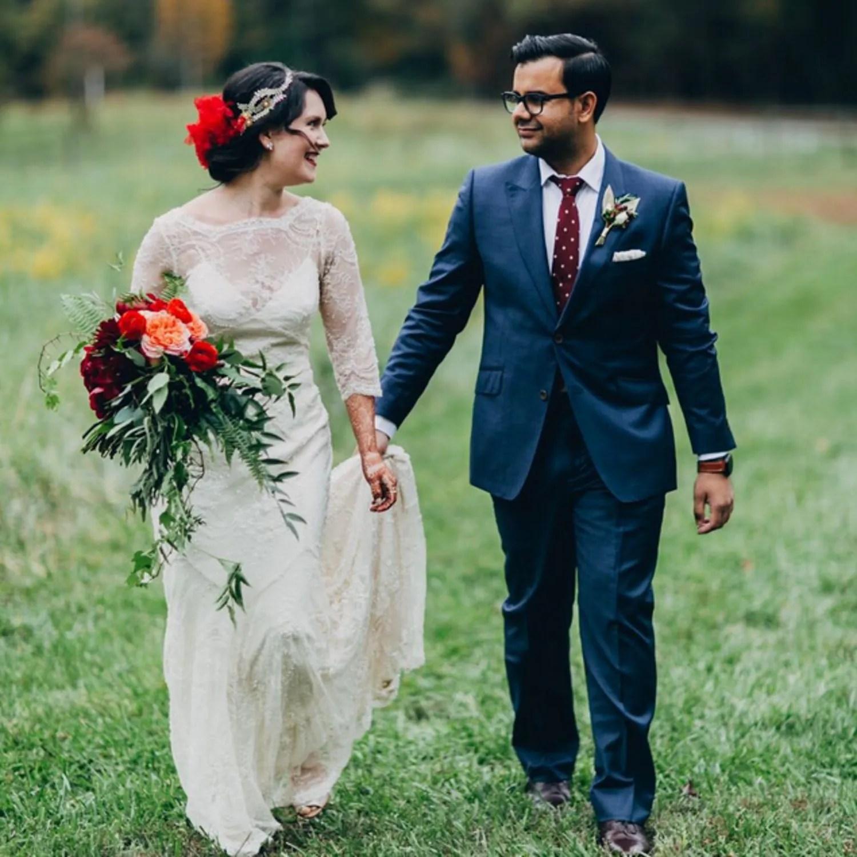 flower crown wedding alternative