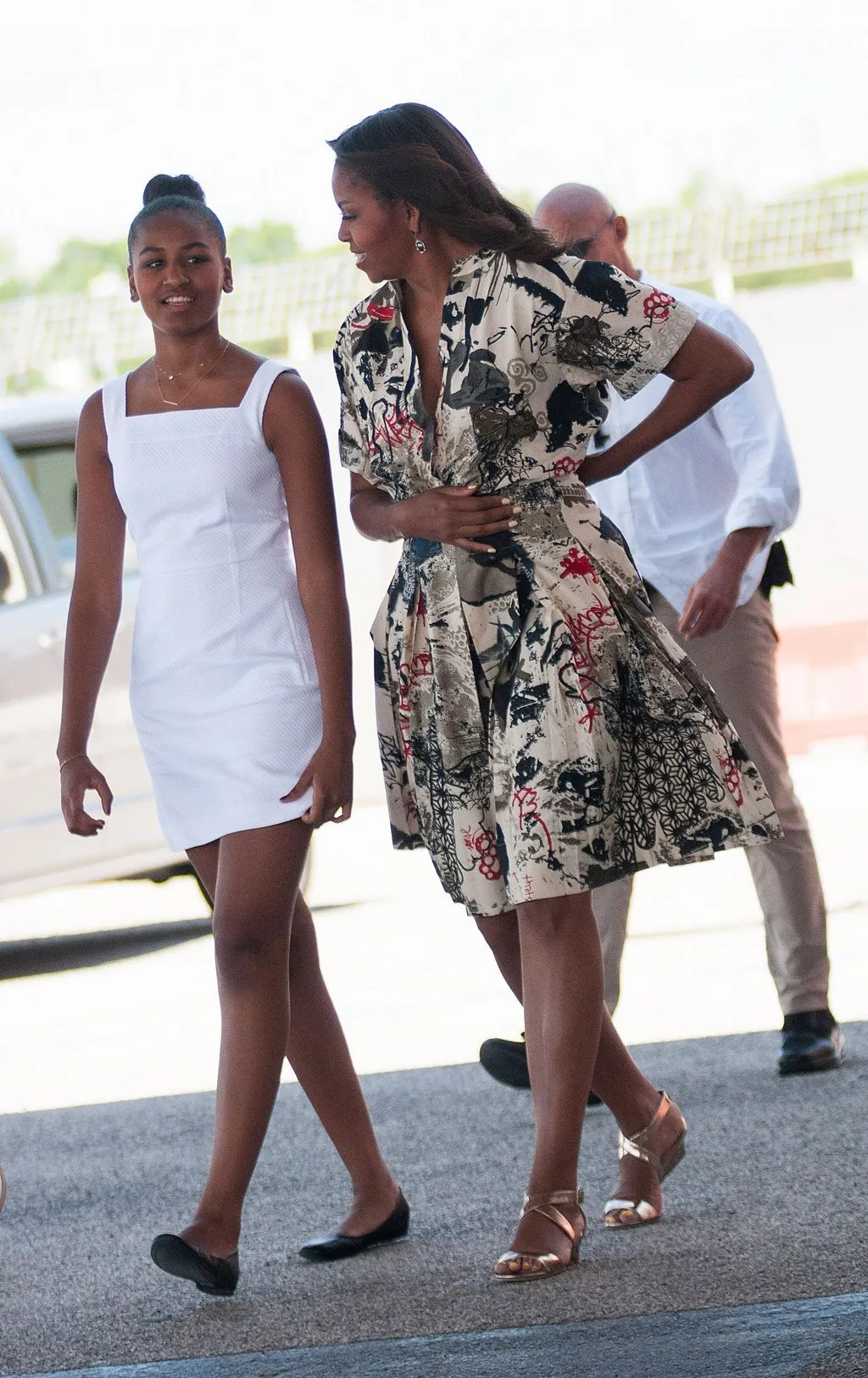 Sasha Obama GrownUp Style  Glamour