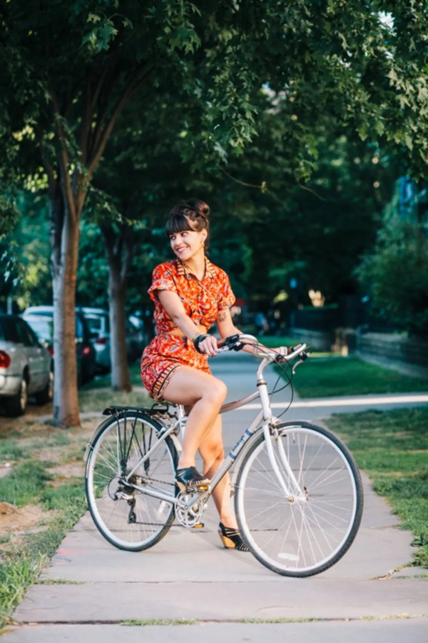 Summer Outfits Wear Ride Bike Glamour