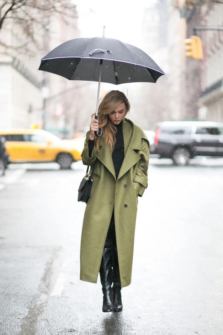 rainy day outfit idea style heroine
