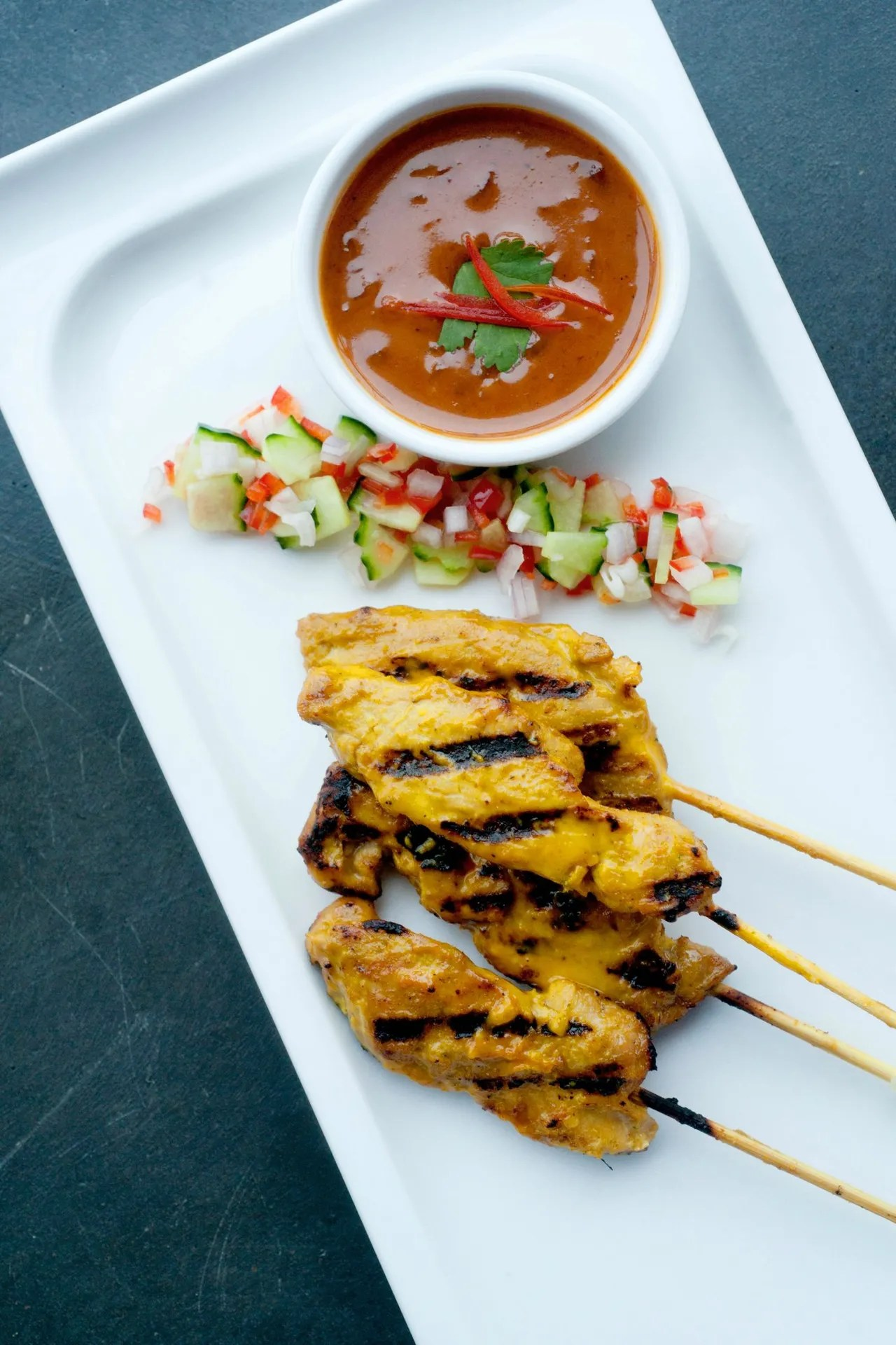 Low Calorie Chicken Satay Dinner Recipe  Glamour