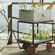 Bar Carts Outdoor Entertaining Wheels