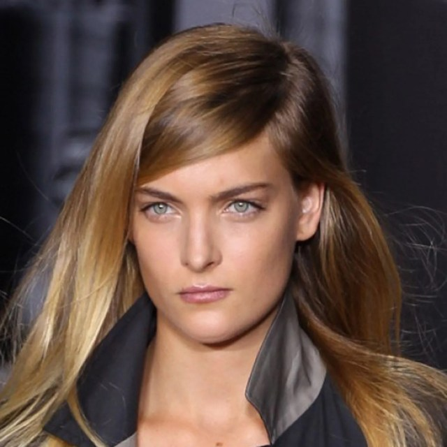 1 trend, 4 ways: the deep side part | glamour