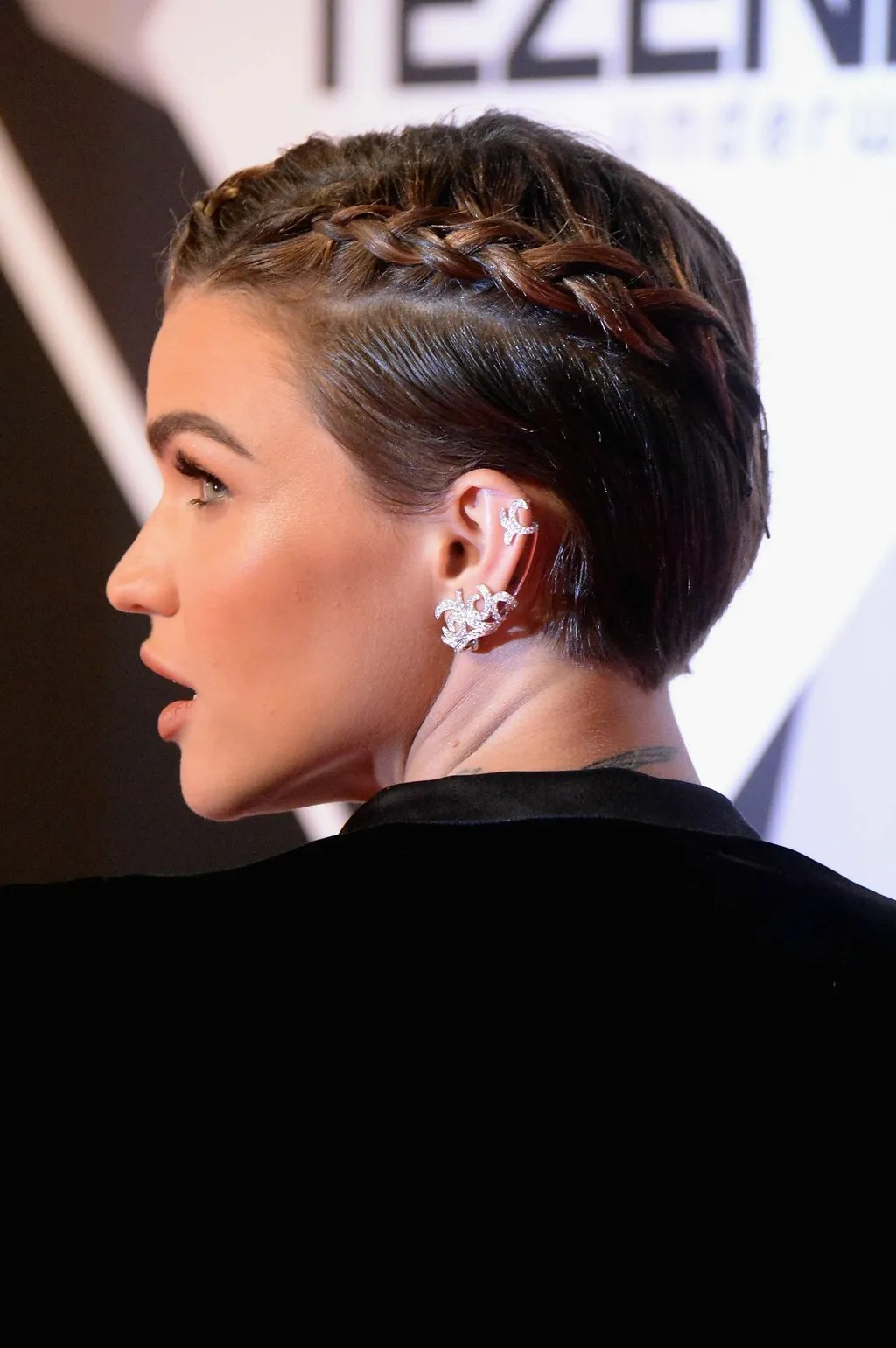 Celebrity Braided Hairstyle Inspiration The Best Edgy