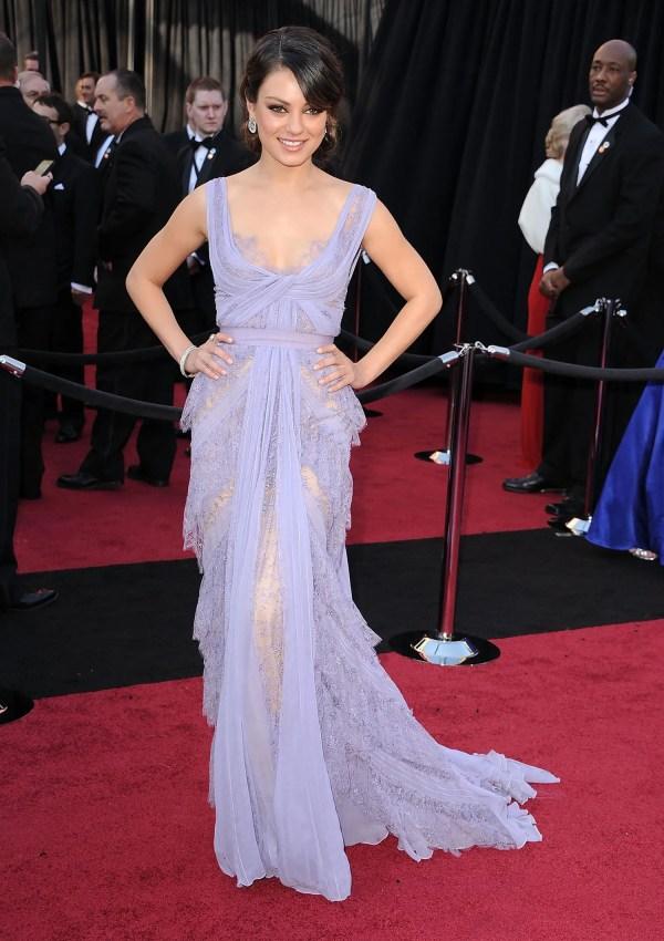 Mila Kunis Oscars 2011 Dress