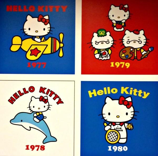 1977-1980年頃のキティちゃん