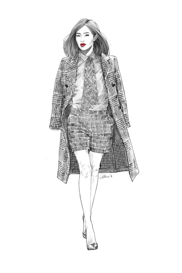 Street Style Illustrated Gary Pepper Girl Nicole Warne