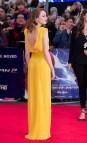 Emma Stone Yellow Versace Dress