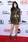 Kylie Jenner Black and Gold Dress