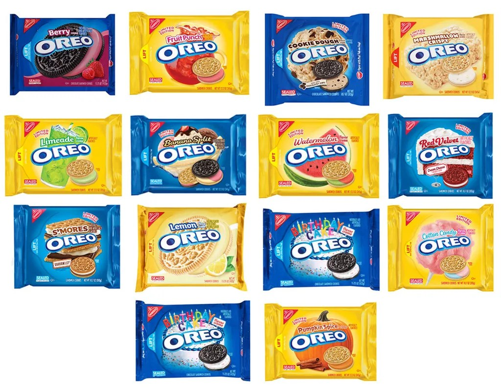 full oreo flavors